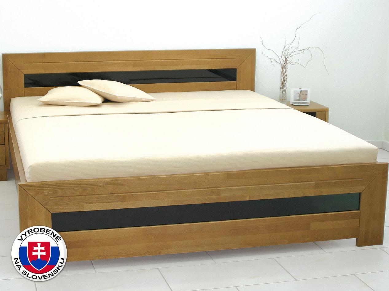 ce7a65d592990 Manželská posteľ 180 cm Salma (masív) | NovýNábytok.sk